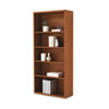 HON107569JJ 10700 Series Bookcase, 5 Shelves/3 Adj., 32-3/8w x 13-1/8d x 71h, Henna Cherry HON 107569JJ
