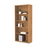 HON107569CC 10700 Series Bookcase, 5 Shelves/3 Adjustable, 32-3/8w x 13-1/8d x 71h, Harvest HON 107569CC