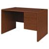 HON107885RJJ 10700 Series Single 3/4-Right Pedestal Desk, 48w x 30d x 29-1/2h, Henna Cherry HON 107885RJJ