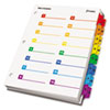 CRD60970 OneStep Printable Table of Contents/Dividers, 32-Tab, 8-1/2 x 11, Multicolored CRD 60970