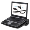 FEL8030401 Laptop Riser, Non-Skid, 15 x10 3/4 x 5/16, Black FEL 8030401