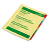 Avery Office Essentials Insertable Tab Index Divider Set