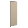 BSXP7224GYGY Versé Office Panel, 24w x 72h, Gray BSX P7224GYGY