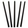 CLI34221 Slide 'N Grip Binding Bars, Black, 11 x 1/2, 100/Box CLI 34221