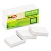 RTG27405 Sugar Cane Self-Stick Notes, 1 1/2 x 2, White, 100 sheets/pad, 12 pads/PK RTG 27405