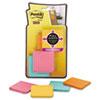 MMMF2208SSFM Full Adhesive Notes, 2 x 2, Assorted Colors, 8/PK MMM F2208SSFM