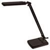 LEDL9112 5W LED Desk Task Lamp, 15 x 7 1/2, Black LED L9112