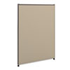 BSXP4230GYGY Versé Office Panel, 30w x 42h, Gray BSX P4230GYGY