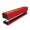 SWI87831 Full Strip Fashion Staplers, 20-Sheet Capacity, Red/Black SWI 87831