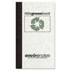 ROA77356 Little Green Book, Gray Cover, Narrow Rule, 5 x 3, White Paper, 60 Sheets ROA 77356