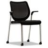 HONN606NT10T1 Nucleus Multipurpose Chair, Black ilira-stretch M4 Back, Black Seat, Titanium HON N606NT10T1