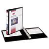 AVE27725 Durable Vinyl Round Ring View Binder, 8-1/2