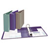 AVE79340 Heavy Duty Nonstick View Binder W/ Locking One Touch EZD Rings, 3