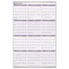 AAGPM1228 Recycled Yearly Wall Calendar, 24