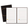 "AAG70621005 Planning Notebook With Reference Calendar, Black, 6"" x 9"" AAG 70621005"