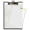 BAUTA1611 Quick Reference Clipboard, 1/2