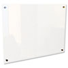 BLT83951 Enlighten Glass Board, Frameless, Frosted Pearl, 48