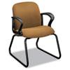 HON2073CU26T Gamut Series Sled Base Guest Chair, Caramel HON 2073CU26T