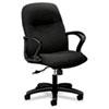 HON2072CU10T Gamut Series Managerial Mid-Back Swivel/Tilt Chair, Black HON 2072CU10T
