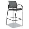 HONIC108NT10 Ignition Series Mesh Back Café Height Stool, Black Fabric Upholstery HON IC108NT10