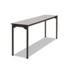 ICE65887 Maxx Legroom Table, 18w x 72d x 29-1/2h, Gray/Charcoal ICE 65887