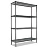ALESW204818GN All-Purpose Wire Shelving Starter Kit, 4 Shelves, 48w x 18d x 72h, Green ALE SW204818GN