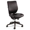 SAF7065BV Sol Task Chair, Black Vinyl SAF 7065BV