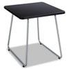 SAF5090SL Anywhere End Table, 20w x 20d x 19-1/2h, Black/Silver SAF 5090SL