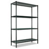 ALESW204824GN All-Purpose Wire Shelving Starter Kit, 4 Shelves, 48w x 24d x 72h, Green ALE SW204824GN