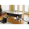 ALEVA72RE4824GY Valencia Series Training Table Top, Rectangular, 48w x 24d, Speckled Gray ALE VA72RE4824GY