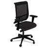 MLNC1BB2OJT Commute Mesh Back Task Chair, Black MLN C1BB2OJT