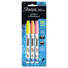 SAN1783274 Water-Based Glitter Paint Markers, Assorted, 3/Pk SAN 1783274