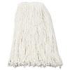 UNS216RCT Premium Cut-End Wet Mop Heads, Rayon, 16-oz., White, 12/Carton UNS 216RCT