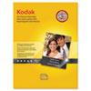 KOD8366353 Ultra Premium Photo Paper, 76 lbs., High-Gloss, 8-1/2 x 11, 25 Sheets/Pack KOD 8366353