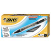 BICFPIN11BK Intensity Permanent Pen, 0.5 mm, Fine, Black, Dozen BIC FPIN11BK
