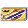BICBU311BE BU3 Retractable Ballpoint Pen, 1.0 mm, Blue BIC BU311BE