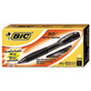 BICBU311BK BU3 Retractable Ballpoint Pen, 1.0 mm, Black BIC BU311BK