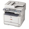 OKI62438801 MB491 MFP Mono Multifunction Laser Printer, Copy/Fax/Print/Scan OKI 62438801