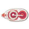 UNV75614 Glue Tape, Permanent, 1/3