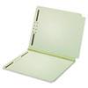 GLW45715 Dual Tab Pressboard Folder, 2 Fasteners, 2
