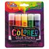 EPIE129 Colored Glue Stick, Assorted, 0.21 oz, 5 per Pack EPI E129