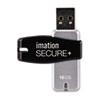 IMN28910 Secure+ Hardware-Encrypted Flash Drive, 16 GB IMN 28910