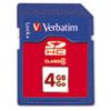 VER97302 Premium SDHC Memory Card, Class 4, 4GB VER 97302