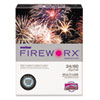 CASMP2241BE FIREWORX Colored Paper, 24lb, 8-1/2 x 11, Bottle Rocket Blue, 500 Sheets/Ream CAS MP2241BE