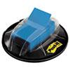 MMM680HVBE Flags in Desk Grip Dispenser, 1 x 1 3/4, Blue, 200/Dispenser MMM 680HVBE