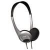 MAX190318 HP-200 Stereo Headphones, Silver MAX 190318