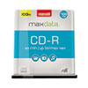 MAX648200 CD-R Discs, 700MB/80min, 48x, Spindle, Silver, 100/Pack MAX 648200