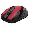 LOG910002697 M525 Wireless Mouse, Compact, Right/Left, Red LOG 910002697
