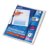 AVE16063 Index Maker Unpunched Clear Label Dividers, 8-Tab, Letter, 5 Sets/Pack AVE 16063
