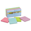 MMM65412SST Super Sticky Pads, 3 x 3, Five Tropic Breeze Colors, 12 90-Sheet Pads/Pack MMM 65412SST